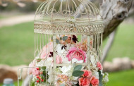 Cage Shabby Chic Decorating