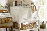 Idee bagno Shabby Chic Provenzale