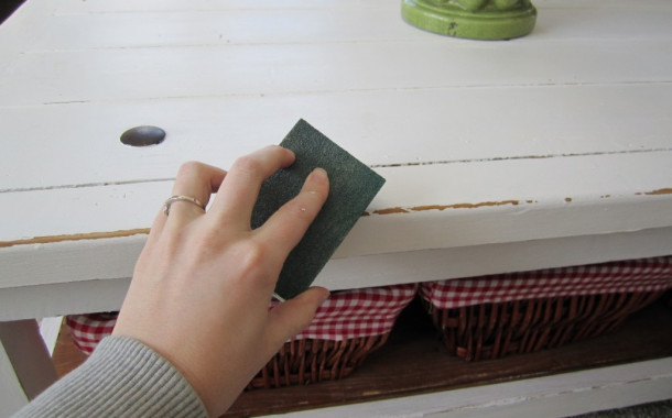 Shabby Chic Furniture: How to paint and decaparli