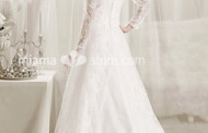 Shabby Vintage Wedding Dress