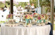 Ideas wedding table decorations Shabby Chic vintage