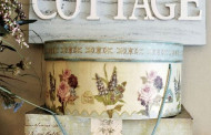 Shabby Cottage Wooden signboard