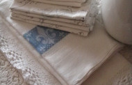 Linen fabrics for the Shabby Chic style