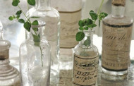 Ideas recycling of glass bottles shabby chic vessels
