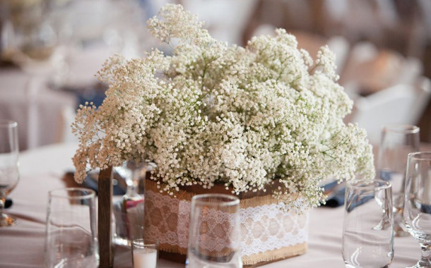 Sjaskig stil Wedding centerpieces