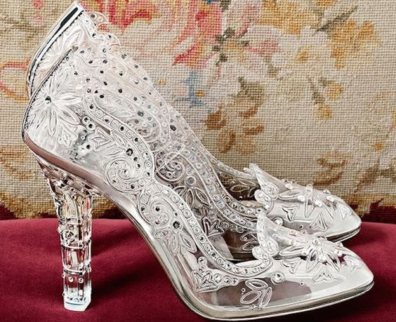 Cinderella Inspired Wedding Shoes | HandMade Shoes - Exclusive
