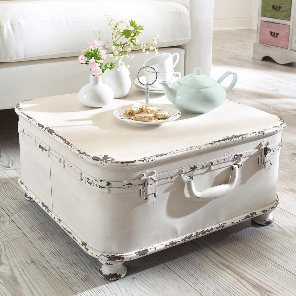 Ideas for Shabby Chic coffee tables made with recycled materials DIY ...