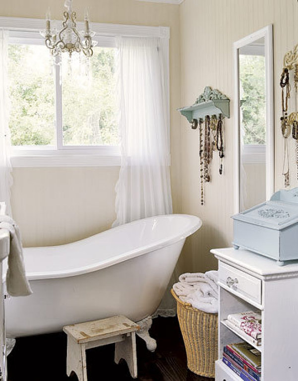 Arredamento bagno shabby chic my life in the countryside - Arredo bagno country chic ...